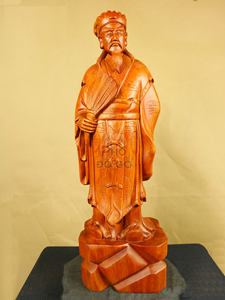 Tượng Gỗ Khổng Minh - Gia Cát Lượng 7034