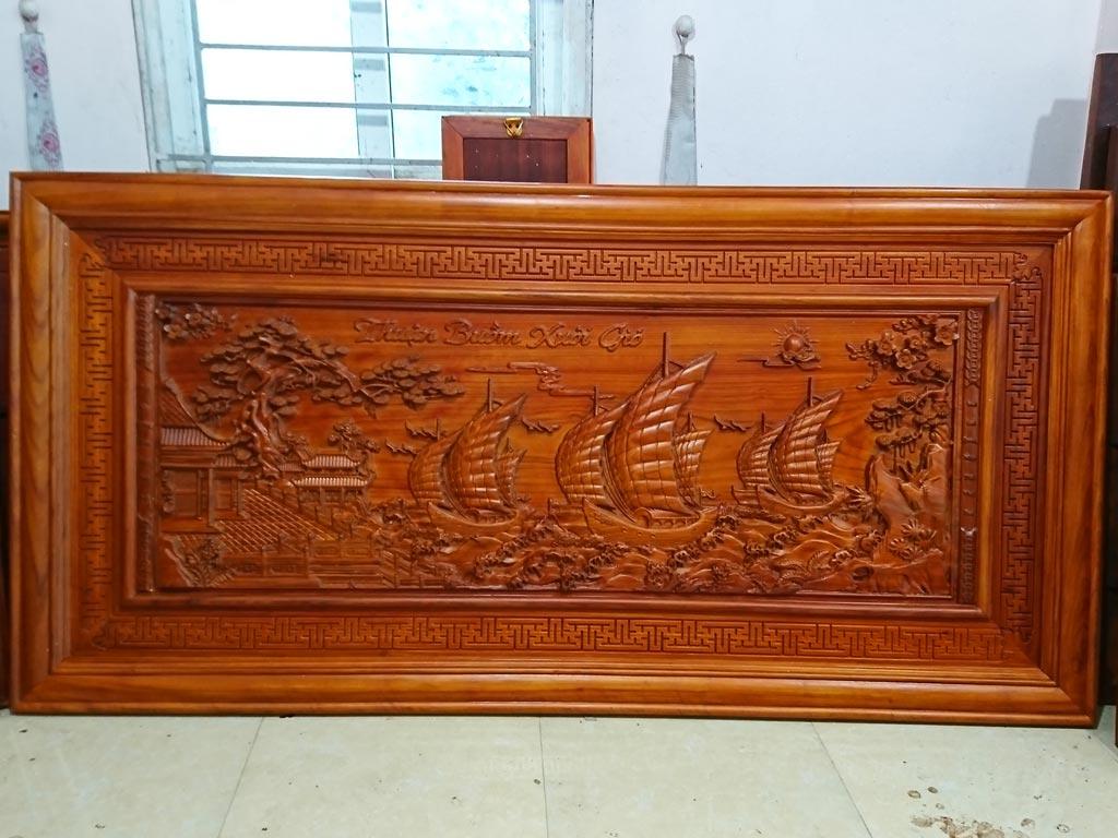 Tranh Gỗ Thuận Buồm Xuôi Gió PU 1m97